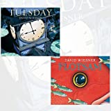 David Wiesner Collection 2 Books Bundle (Tuesday,Flotsam) by David Wiesner (2016-06-07)
