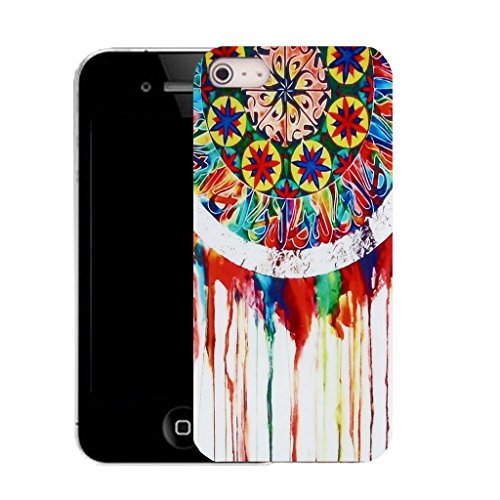 Mobile Case Mate IPhone 5 clip on Silicone Coque couverture case cover Pare-chocs + STYLET - dreamline pattern (SILICON)