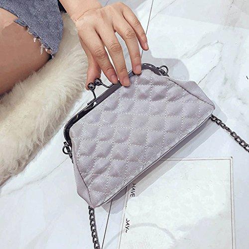 Guofeng Small Bag, Spring And Summer New Buckle Bag Fashion Shoulder Messenger Bag (color: Silver) Silver