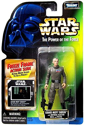 Star Wars Power of the Force Freeze Frame Grand Moff Tarkin Action Figure 3.75 Inches