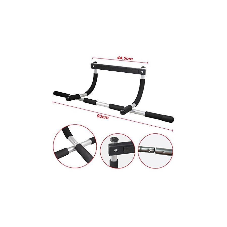 Topeakmart Doorway Trainer Chin Up/Pull Up Bar Multi Gym