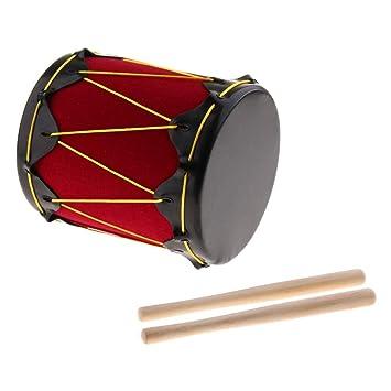 Tambor Instrumentos Sharplace Indio Musicales De Percusión Juguete IYbv6g7fy
