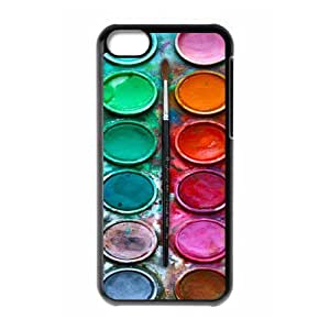 DiyCaseStore Colorful Watercolor Set iphone 6 plus Hard Case Cover Protector Christmas Gift Idea