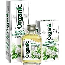 Organic Sesame Oil Cold Pressed Unrefined Extra Virgin Raw No GMO 100ml