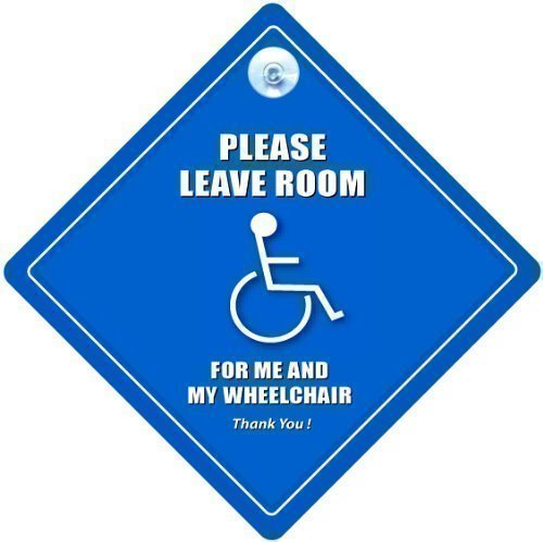 Please Leave Room For Me And My Wheelchair Car Sign, Disabled Car Sign, Wheelchair Car Sign, Disability Sign, Motorbility, Disabled, Blue Badge Sign iwantthatsign.com PleaseLeaveRoomForMeAndMyWheelchair