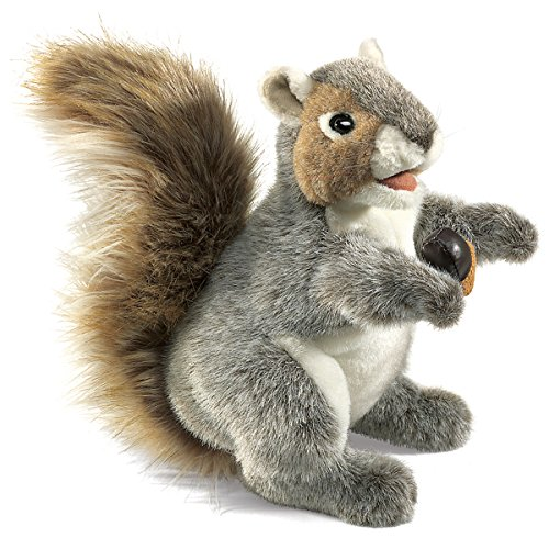 Folkmanis Gray Squirrel Hand Puppet