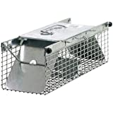 Havahart 1025 Live Animal Two-Door Chipmunk, Small Squirrel, Rat, and Weasel Cage Trap