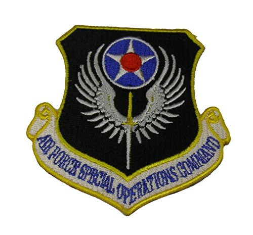 AIR FORCE SPECIAL OPERATIONS COMMAND Shield Patch - Color - Veteran Owned (Special Ops Vests)