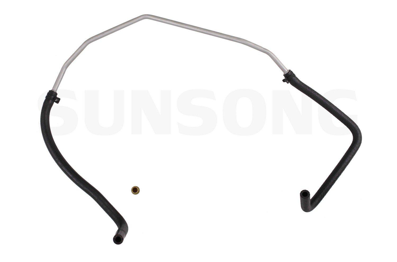 Sunsong 3402986 Power Steering Return Hose Assembly Toyota