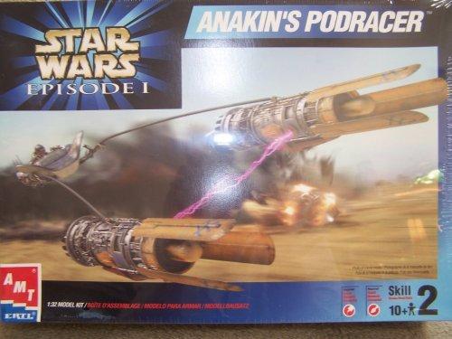 - Star Wars Episode 1 ANAKIN'S PODRACER 1/32 Scale Model Kit (1999 AMT/ERTL)