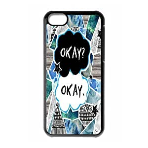 Okay? okay.the Fault in Our Stars Hard Plastic phone Case Cover For Iphone 5c FAN207614