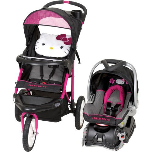 Hello Kitty Baby Car Seat And Stroller - 8