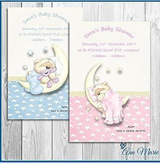 Wilton - Invitaciones y Sobres 12/pkg-Boy bebé Ducha, Otros ...