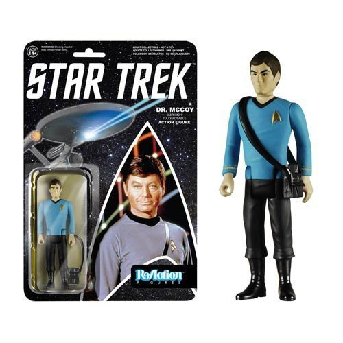 Star Trek Dr. McCoy ReAction 3 3 4Inch Retro Action Figure by Funko