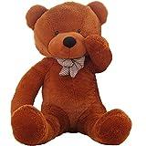 VERCART 31 inches Dark Brown 80CM Giant Huge Cuddly Stuffed Animals Plush Teddy