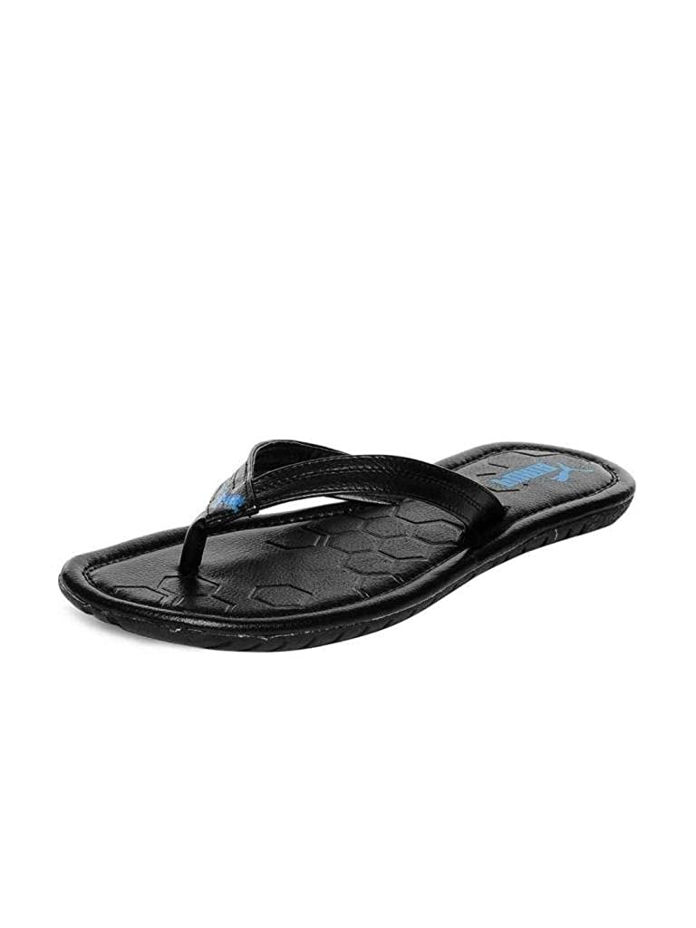 f6c9a0bf04bfd Puma Men s Drifter Road II Ind. Black and Blue Aster Hawaii Thong Sandals -  11 UK India(46EU)  Buy Online at Low Prices in India - Amazon.in