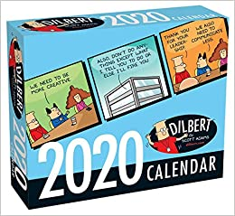 Dilbert Calendar 2020 Dilbert 2020 Day to Day Calendar: Scott Adams: 9781449497774