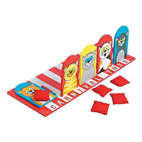 - Carnival Cat Bean Bag Toss Game