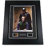 Dark Knight Heath Ledger Signed + Original Dark Knight Film Footage