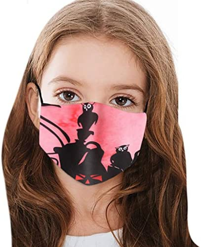 WXAN NEW PRODUSTS Fa_ce_Ma_sks Reusable Children Outdoor Halloween Anti Dust Breathable 1Mask. Unique Design Beautiful And Cute And Can Protect Yourself Well