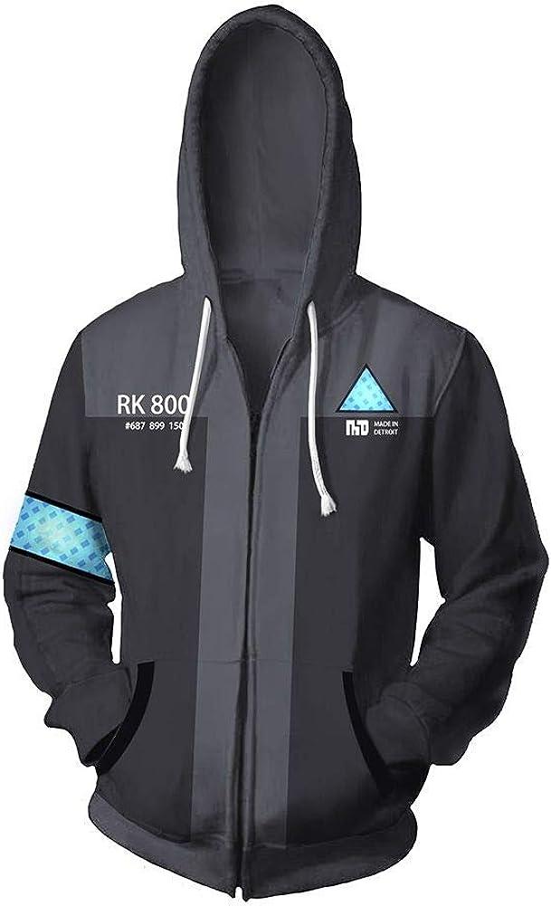 Unizero Unisex Detroit Become Human Hooide Men/'s Hooded Sweatshirt