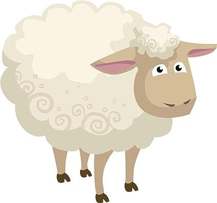 Sheep fluffy. Amazon com cute simple