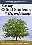 Serving Gifted Students in Rural Settings, Stambaugh, Tamra, 1618214292