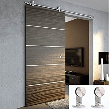 Amazon Com Tms Woodenslidingdoor Hardware Modern Interior Sliding