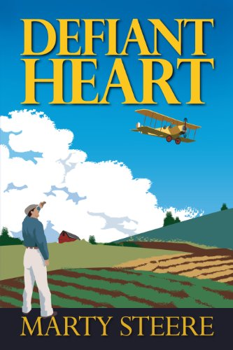 Defiant Heart by Marty Steere is a heartwarming story of courage and perseverance, with moments that evoke laughter, grief and unabashed joy – a story that lingers long after the last page.
