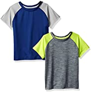 Amazon Essentials Boys Active Performance Short-Sleeve T-Shirts