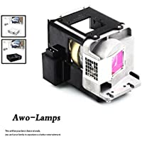 AWO BL-FU310A / FX.PM484-2401 Replacement Lamp with Housing Fit For OPTOMA X501 W501 EH501 EW420 HD151X HD36