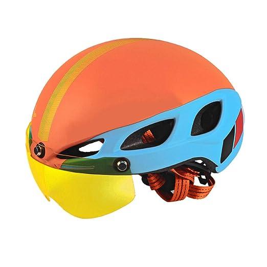 YSH Casco para Bicicleta 6 Salidas De Aire Cascos De ...