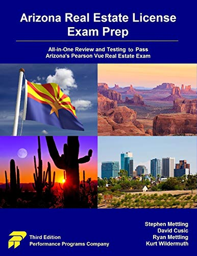 Pdf Law Arizona Real Estate License Exam Prep: All-in-One Review and Testing to Pass Arizona's Pearson Vue Real Estate Exam