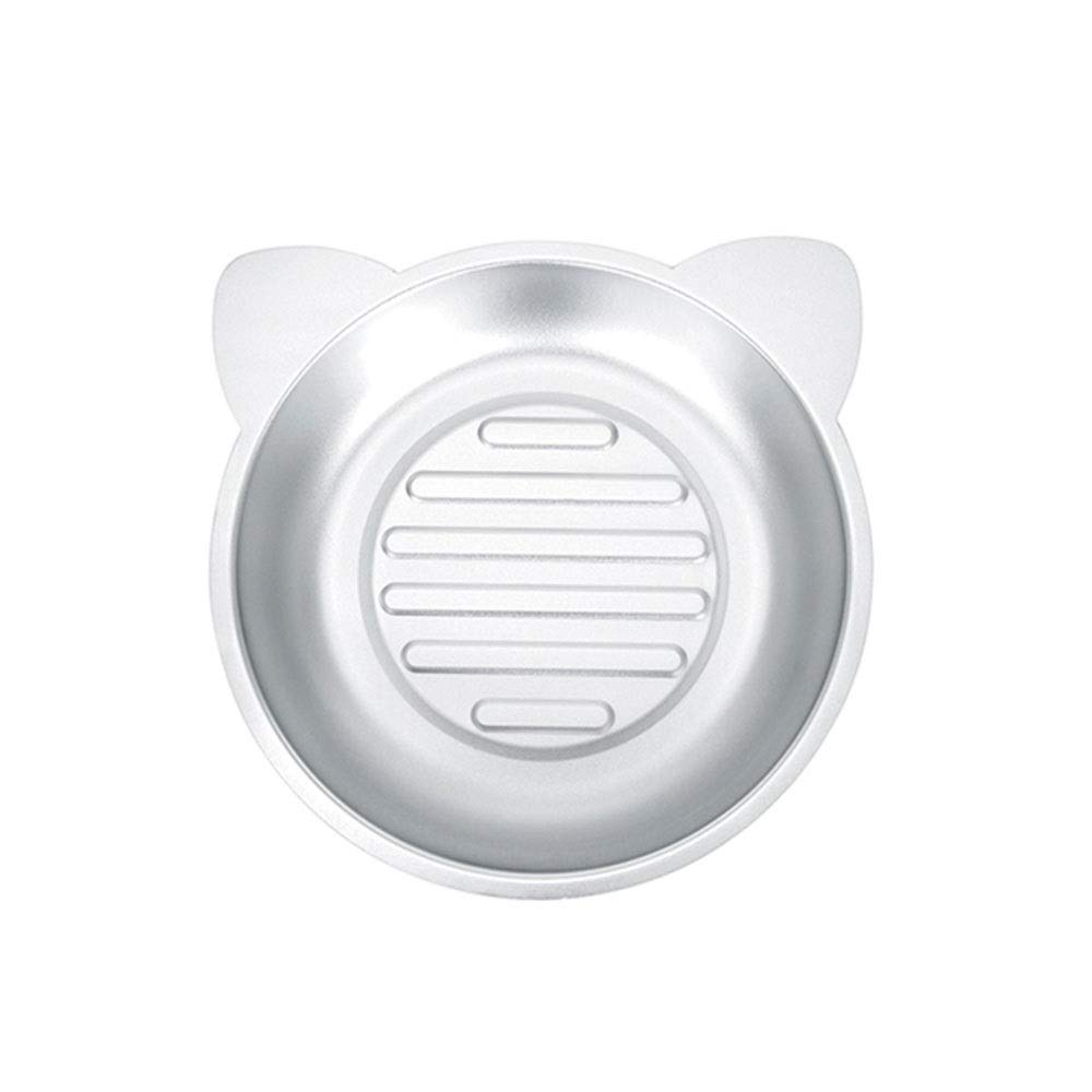 WEAO Aluminum Kitten Cat Nest Pet Bed Cat Pot Four Seasons Universal, Round Cat Ears Design, Non-Slip Mat