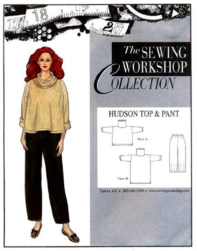 Amazon Patterns Sewing Workshop Collection Hudson Top Pant