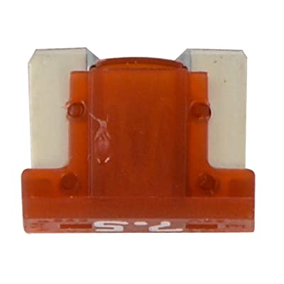 GG Grand General 62951 Fuse (Low Profile Mini, 7.5Amp (Brown), 5Pieces/Package): Automotive