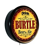 BURTLE Beer and Ale Cerveza Lighted Wall Sign