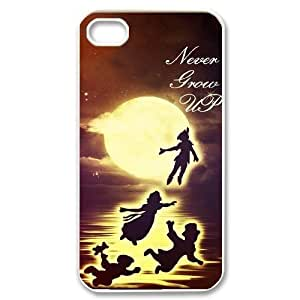 James-Bagg Phone case - Never Grow Up - Peter Pan Pattern Protective Case For Iphone 4 4S case cover Style-4