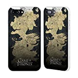 Official HBO Game Of Thrones Westeros Map Key Art White Fender Case for Apple iPhone 7 Plus / iPhone 8 Plus