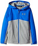Under Armour Boys' Phenom Full Zip Hoodie,Graphite (040)/Graphite, Youth X-Small