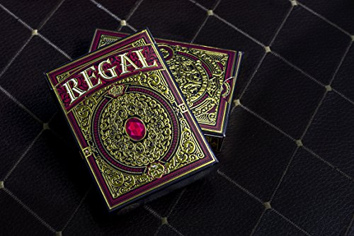 Regal Red Playing Cards Deck Brand New Limited Edition By Gamblers Warehouse