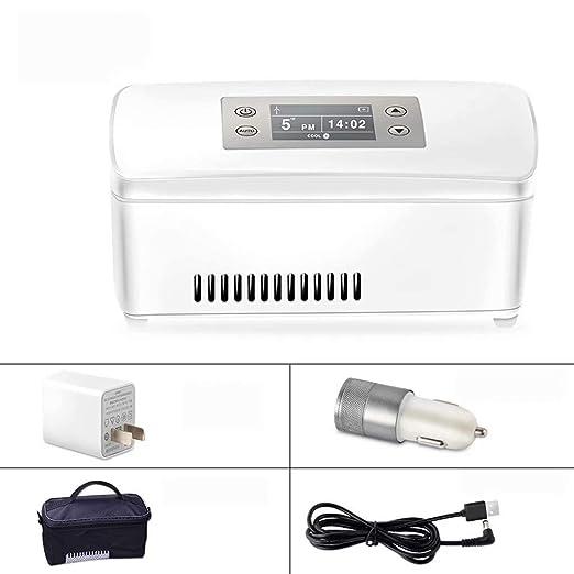 MNBX Refrigerador portátil para medicamentos y refrigerador de ...