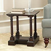 Safavieh American Homes Collection Endora Dark Cherry End Table