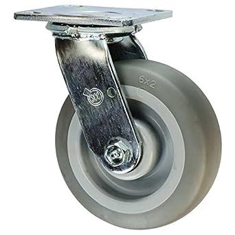 Servicio scc-30cs620-tprr-f de ruedas rueda giratoria, rueda goma termoplástica