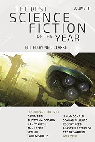 book cover of The Best Science Fiction of the Year: Volume One