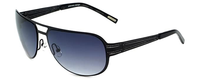 e624126dc9 Amazon.com  Renoma Designer Sunglasses Ruben 0000 in Black with Grey ...