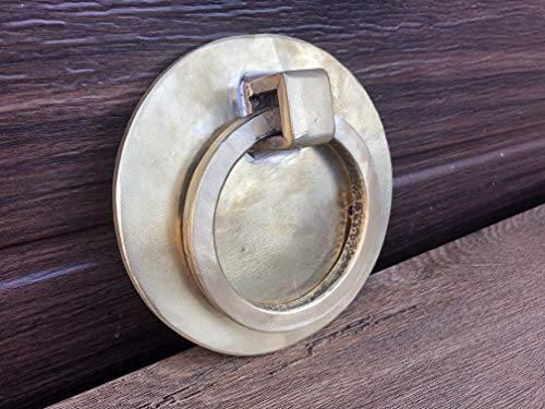 Bronze door knocker, door knocker, door pull, door ring, door puller,pull ring handle,bronze gifts,8th anniversary gift,engraved bronze gift