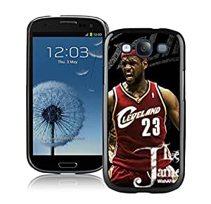 New Custom Design Cover Case For Samsung Galaxy S3 I9300 Cleveland Cavaliers Lebron James 7 Black Phone Case
