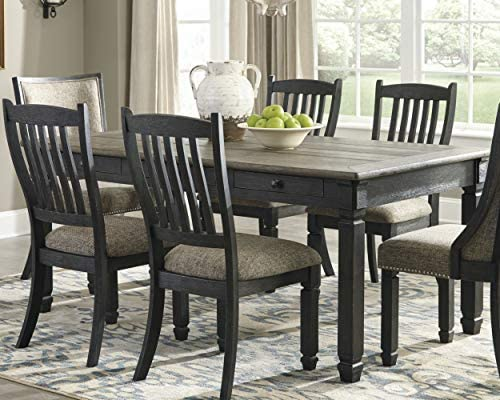Signature Design By Ashley – Tyler Creek Dining Room Table – Black Gray
