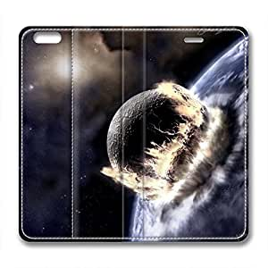 DIY Wormhole Design Leather Case for Iphone 6 Falling Stone